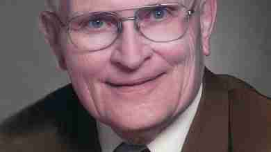 Photo of Edwin LeMont Benedict, 94, Charles City