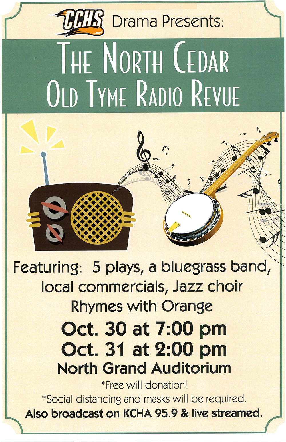 The North Cedar Old Tyme Radio Revue