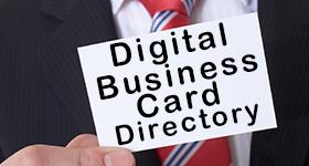 Digital Business Card Directory